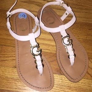 Guess sandals. Worn once.